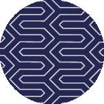 Pattern B, colour Blue